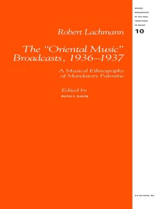 Robert Lachmann_The Oriental Music Broadcasts_Image